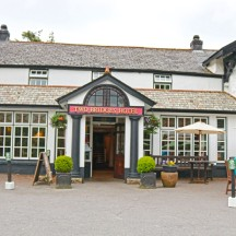 The Front of The Two Bridges Hotel