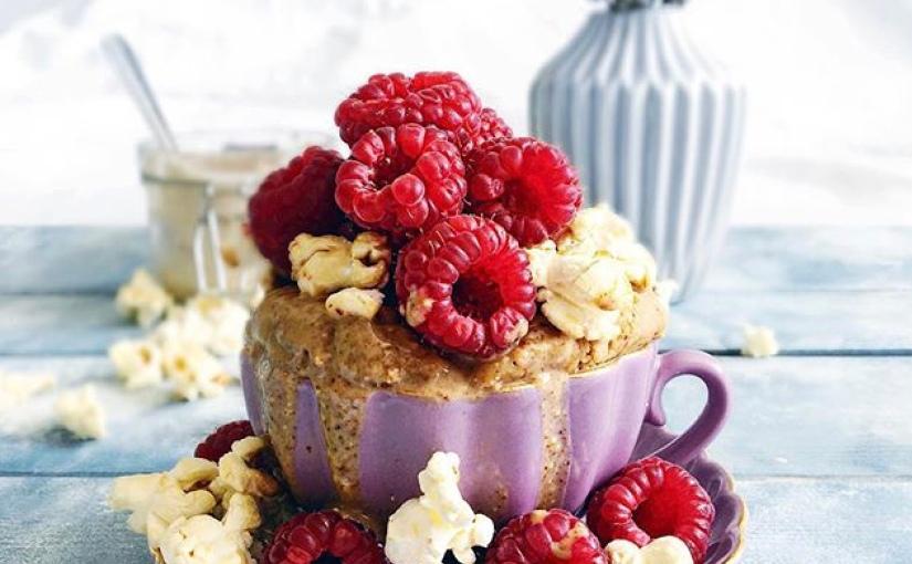 Marvellous Raspberry MugCake