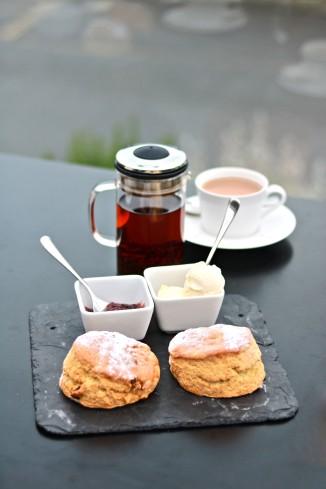 The Dart Marina Hotel Cream Tea!
